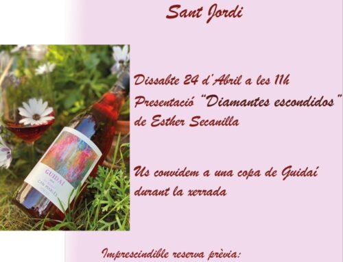 Can Marlès Literari, Sant Jordi entre vinyes